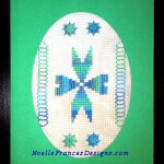 Bermuda Blue Aztec Card