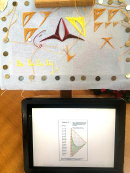 Doodle and iPad