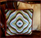 Waves of Fall pillow
