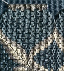 Bargello straight stitch