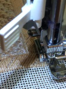 step 2 stitch to next corner