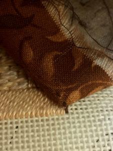 step 9 checking stitching