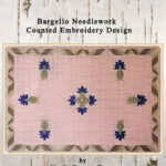 Ribbons and Thistle Flowers (mat size)